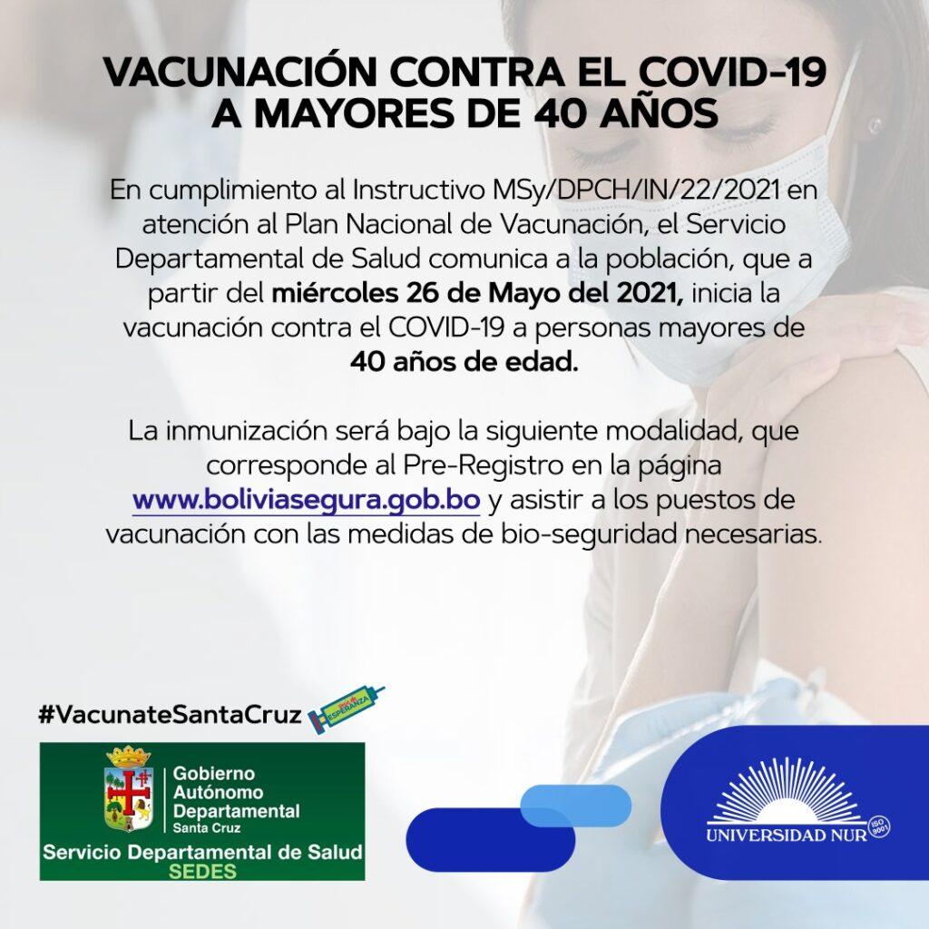Vacunación Covid-19 Santa Cruz